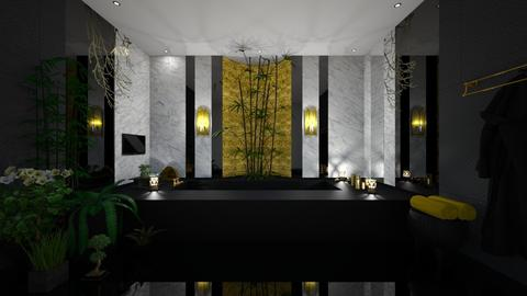 Dark bathroom - Bathroom - by Tuubz