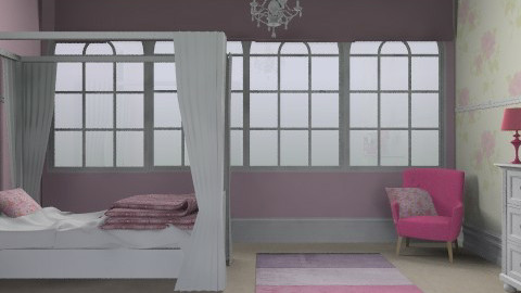 Young & Girly - Glamour - Bedroom - by AmyMcGrane