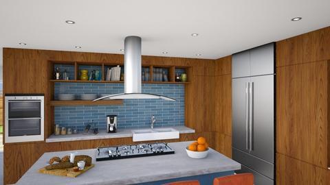 MCM kitchen 16 - by vee_la_ree