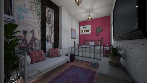 basement room - Bedroom - by rasty
