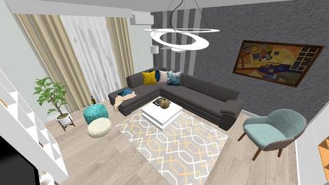 Mirela Badalan living - Modern - Living room - by Flori Santa