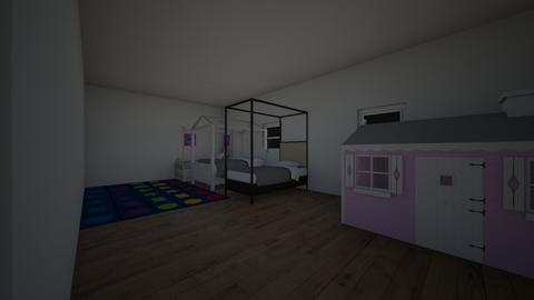 kinderkamer - Kids room - by dansendenoukie