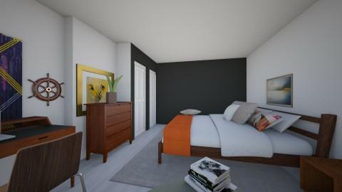 Bedroom redesign - Modern - Bedroom - by Katherine Gilbert
