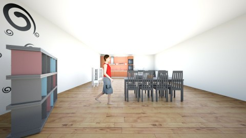 dinner - Dining room - by balbuenanathally