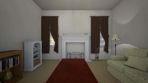 City Apartment - Living room - by WestVirginiaRebel