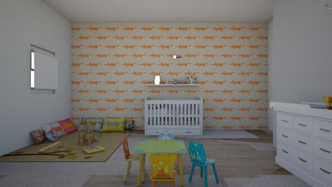 Woodland Nursery - Rustic - by Avika