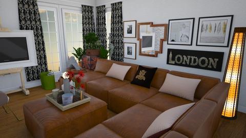 Burton - Living room - by Tree Nut