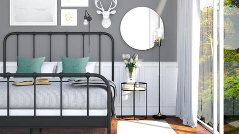 Mid Century Modern - Bedroom - by anamarijag00