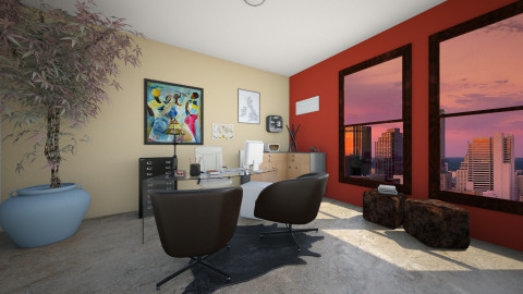 Office - Eclectic - Office - by Mi Hipolito
