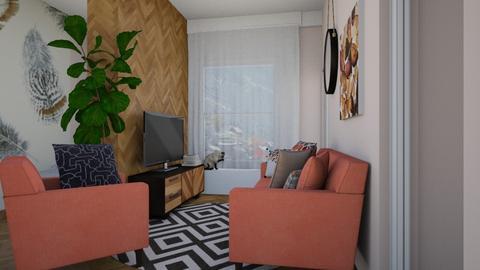 Skandinavian  - Living room - by alina shrayner