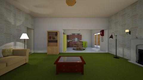 Vintage Ranch LR - Living room - by WestVirginiaRebel