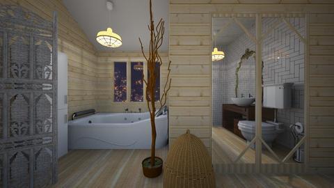 Eclectic Bathroom - Bathroom - by Tupiniquim