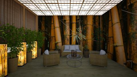 Bamboo Room - by Sandra Jones