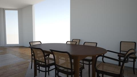 Holzer DR Gala table clos - Dining room - by e57assistants