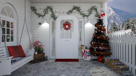 Alaska Christmas - Garden - by creato