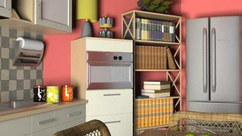 Pegli-kitchen corn.DningII - Glamour - Kitchen - by limina88