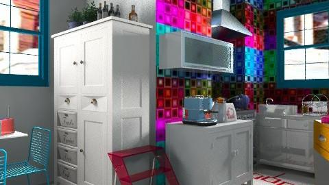small kitchen - Eclectic - Kitchen - by mrschicken