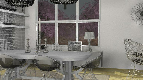 Transparent dining - Dining Room - by Dina1970
