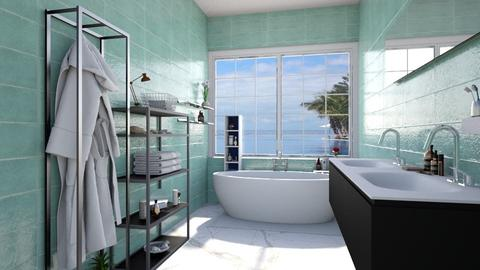 master bath - Bathroom - by Ritix