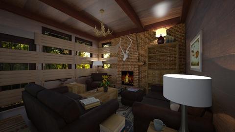 Zombie Defense  - Living room - by SammyJPili