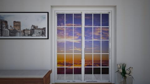 A look outside - Living room - by KATHRYN BRYANT_145