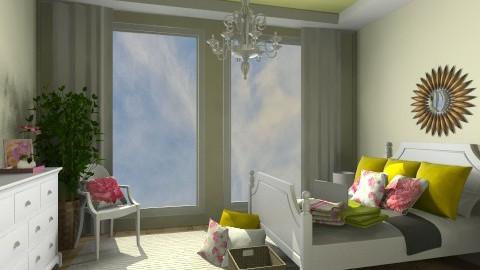Girly Bedroom - Feminine - Bedroom - by emilys3456