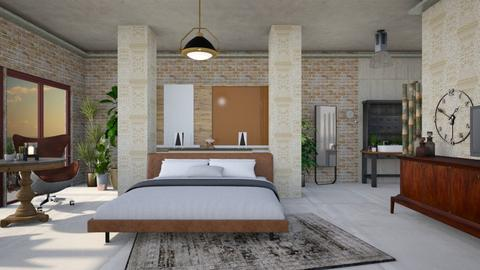 Industrial egg  - Masculine - Bedroom - by Tree Nut