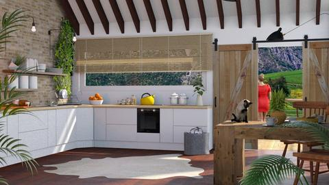 Sunny Kitchen - Kitchen - by Just Bee