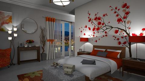 Floral Bedroom  - Bedroom - by bigmama14