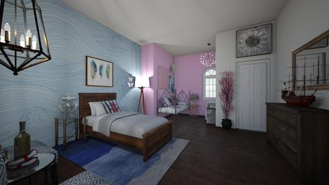 Shared Bedroom - Bedroom - by amybranco