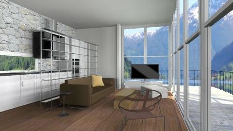 Near the fjord 100 - Modern - Living room - by cibelles