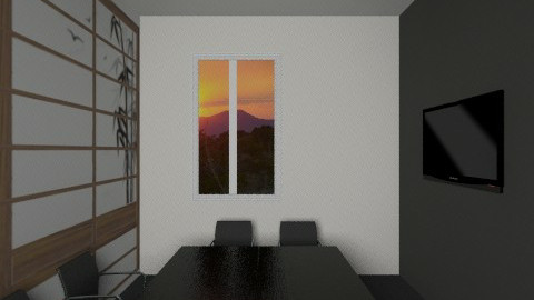 Asia room office view1 - Classic - Office - by Irena_S