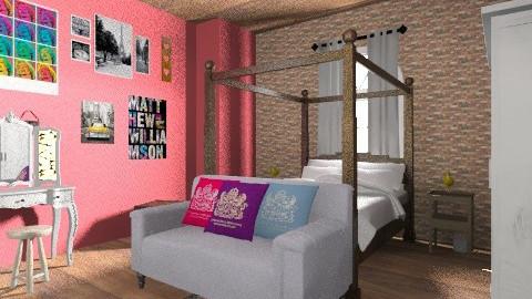 livs room - Retro - Bedroom - by kayleighsteel