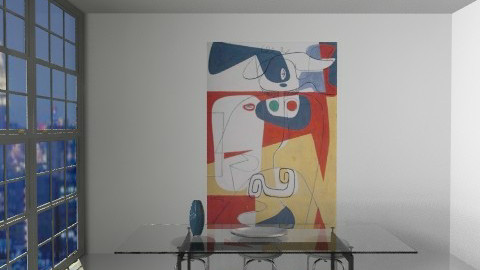 Le Corbusier - Minimal - Living room - by johannaviola87