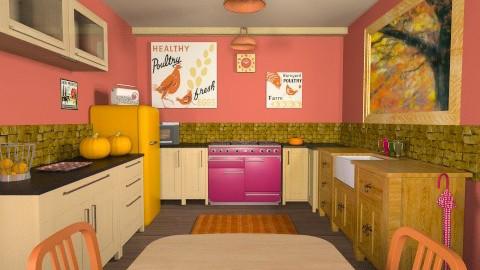 Autumn 4 - Vintage - Kitchen - by nikkisp