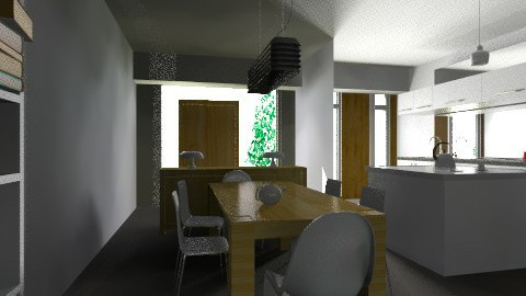 casa chica new  - Dining room - by ARMIDA 1
