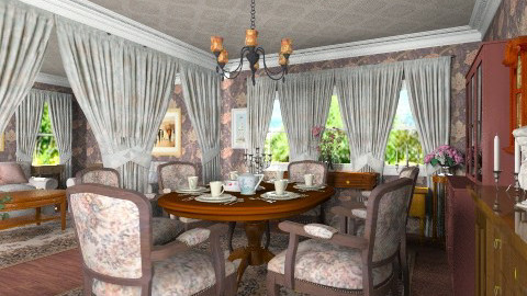 Classic Dining - Classic - Dining room - by Bibiche