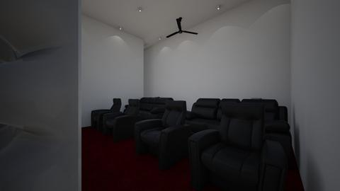 Movie room - by hannahgrva001