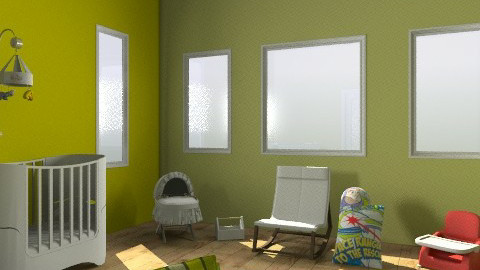 Go Green baby room - Minimal - Kids room - by wardahHjIsa