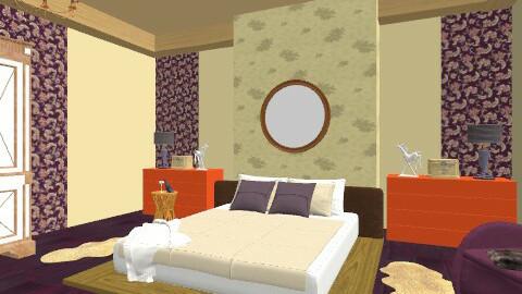 Burleque trend bedroom - Feminine - Bedroom - by mydeco Insider