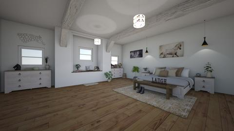 HORSEROOM - Country - Bedroom - by Evie11