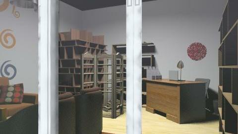 charity shop, fót, hungary - Minimal - Office - by kallatimea