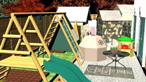 Franks Garden - Eclectic - Garden - by Tom Chapman