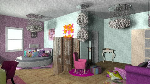 Totally Girly Room - Glamour - Bedroom - by BriaFaith