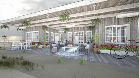 Design 152 Dutch Holiday House - Garden - by Daisy320