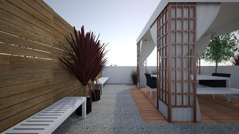 tv terrace plan - by Ileana Mc Flower