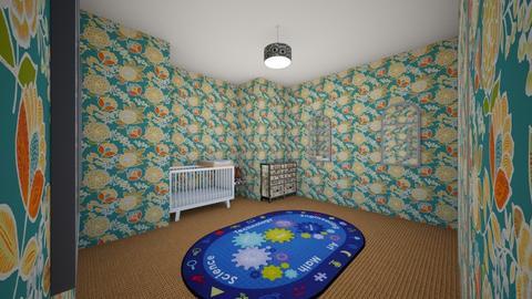 nursery - Kids room - by charles huffman