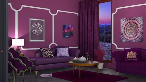 purple - by nat mi