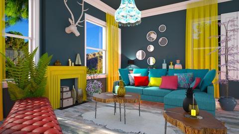 Contest OAK - Living room - by soralobo