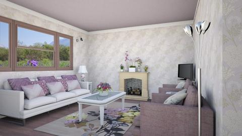 floral den - Feminine - Living room - by Psweets